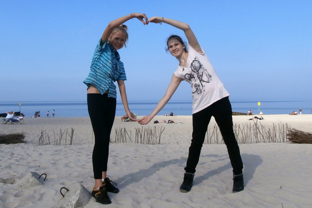 Marcela i Justyna nad Ba?tykiem