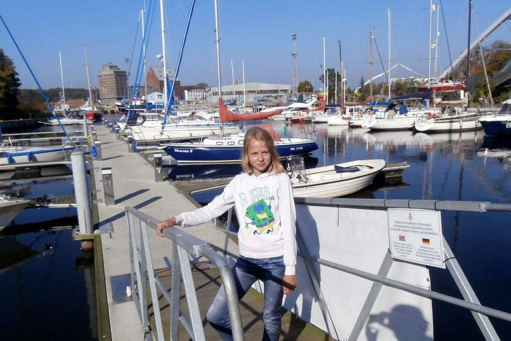 Marcela w Porcie Jachtowym