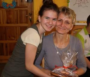 Justynka i jej mama