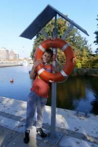 Adrian w Porcie Jachtowym