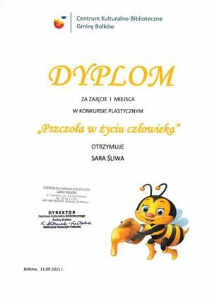Sara Zdj. Pszczoła